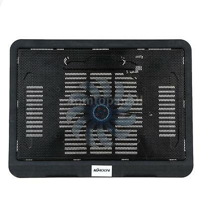 KKMOON Laptop Notebook Silent Cooler Cooling Stand USB Fan Pad with 2 USB Ports