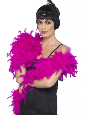 Deluxe Boa Adult Womens Smiffys Fancy Dress Costume Accessory