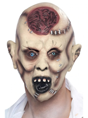Autopsy Zombie Mask Halloween Adult Mens Smiffys Fancy Dress Costume Accessory