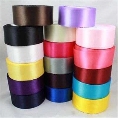 3 Metres  40Mm Satin Ribbon - Range Of Colours - Crafts Cardmaking