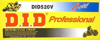 D.I.D Motorcycle Chain Professional V Series O-Ring 520V-120