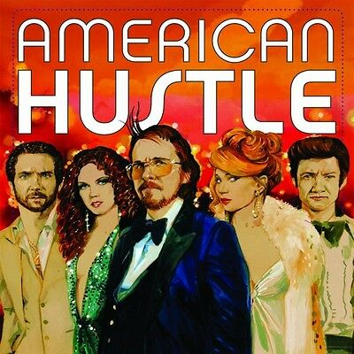 American Hustle - Soundtrack - 2 x Colour (Red/Blue) Vinyl LP *NEW & SEALED*