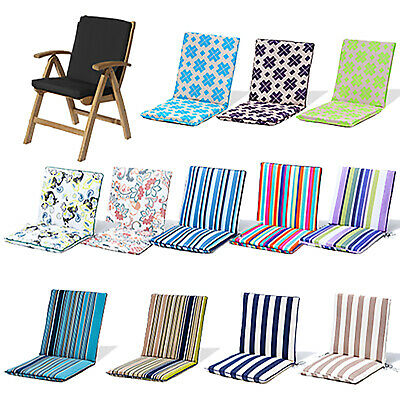 Gardenista Gold Edition Garden Back & Seat Cushion Chair Pad Waterproof Outdoor