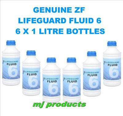 ZF Lifeguard Fluid 6 suit BF-FG ford falcon 6 speed transmission x 6   6hp26 oil