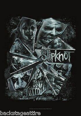 Slipknot Broken Glass Cloth Fabric Textile Poster Flag Tapestry Wall Banner-New!