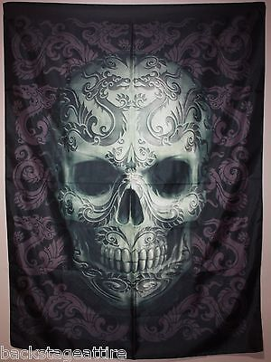 "ANNE STOKES Dragon Skull 29""X43"" Cloth Poster Flag Fabric Textile Tapestry-New!"