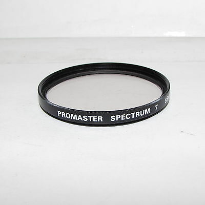 Used Promaster Spectrum 7 1A Sky 55mm Lens Filter Made in Japan S233023