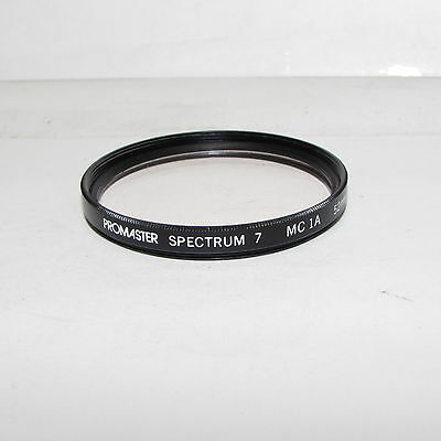 Used Promaster Spectrum 7 MC 1A skylight 52mm Lens Filter Made in Japan S233025
