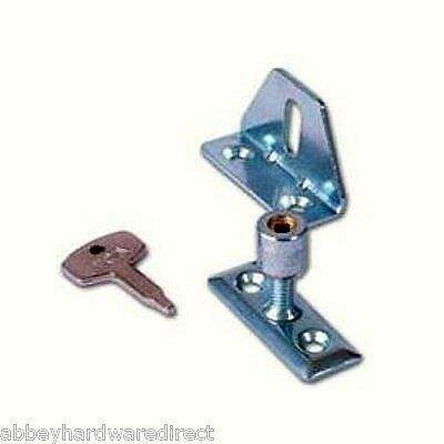 Era Locking Window Casement Transom Catch 828-52 in Zinc