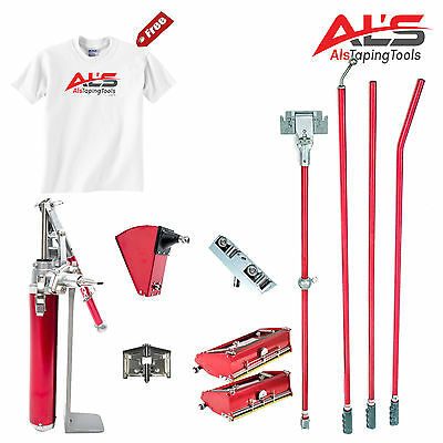 "Level5 Automatic Drywall Taping Tools Finishing Set With 7"" & 10"" Boxes *NEW*"