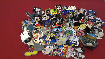 Lot of 100 Disney Trading Pins_No Duplicates_Free USPS Priority Mailing_Save Big