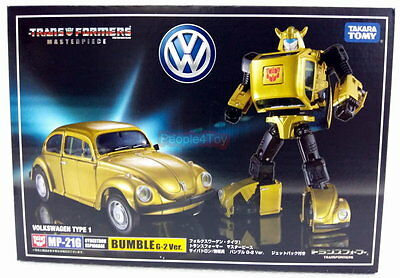 Tomy Takara Transformers Masterpiece MP-21G BUMBLE BEE+Flying Jetpack G2 figure