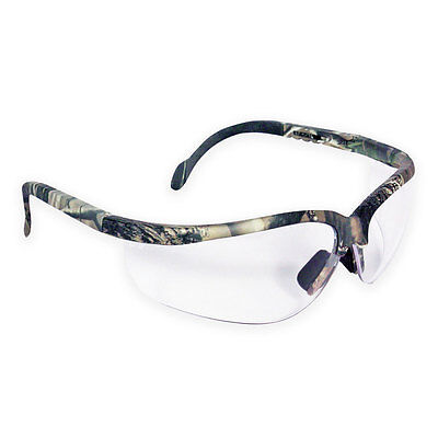 NEW Radians Journey Camo Safety Shooting Hunting Airsoft Army Glasses Clear Lens