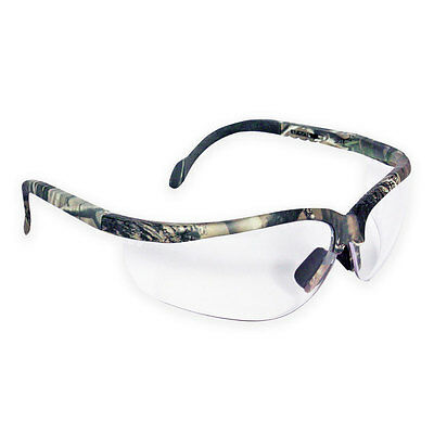 Radians Journey Camo Safety Shooting Hunting Airsoft Army Glasses Clear Lens NEW