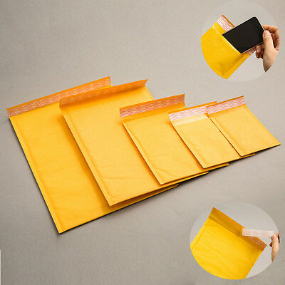 Various Size - Bubble Wrap Mailing Mailer Bags Padded Envelopes Packing Post New