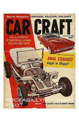 New Hot Rod Poster 11x17 Car Craft Magazine Cover Art Jan 60 Ed Roth Outlaw
