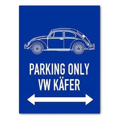 PARKING ONLY - VW Käfer (ab 1963) 11464