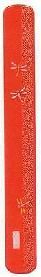 1x Japanese Plastic Chopsticks Case Red Dragonfly #8047