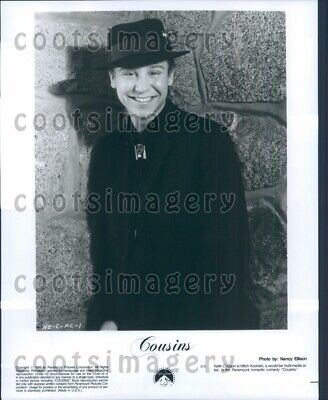 1989 Actor Keith Coogan in Cousins Press Photo