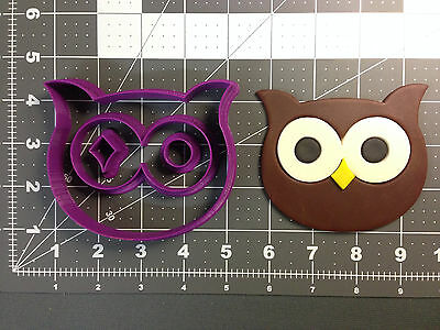 Animal Owl Face Cookie Cutter Set
