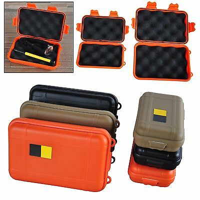New Outdoor Shockproof Waterproof Airtight Survival Storage Case Container Box