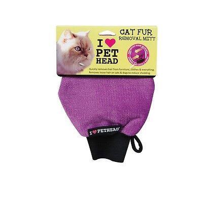 Cat Fur Removal Mitt for Cats & Dogs - Removes hair from Furniture Clothes