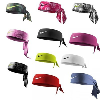 BRAND NEW Nike Head Tie Dri-Fit Black, Volt, Pink, CAMO, Red, Royal, and White