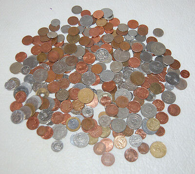One (1) Pound Lot Of World Coins Many Countries 80 To 100 Coins Or More