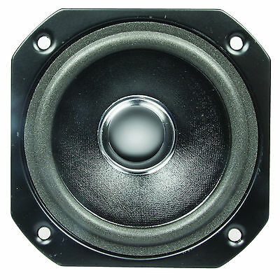 Pro Sound 25W 3.5in Magnetically Shielded Bass Mid Range Audio Hi-Fi Speaker