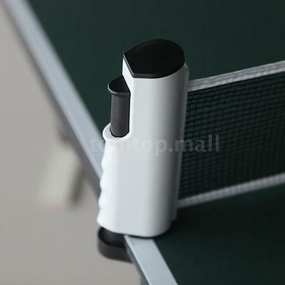 Retractable Telescopic Table Tennis Net Rack Replacement Ping Pong Kit Durable