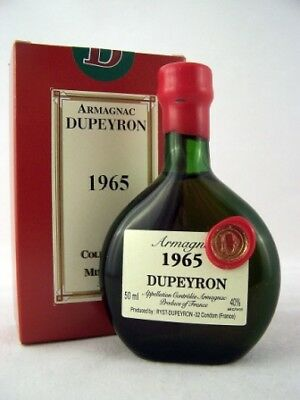 1965 Ryst-Dupeyron Armagnac 50ml France Isle of Wine