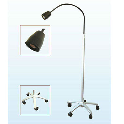 New 5W Mobile Surgical Medical Exam Light Floor Type LED Examination Lamp Dental
