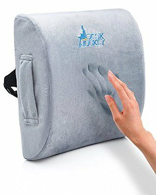 Therapeutic Lumbar Support Cushion Lower Back Car Driver Seat Office Low Pillow