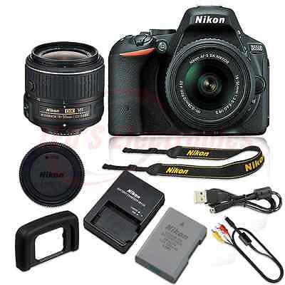 Nikon D5500 24.2 MP Digital SLR Camera with 18-55mm VR II Lens