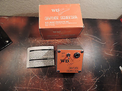 Wd Musical Products Orange Squeezer Compressor Effect Dan Armstrong Reissue