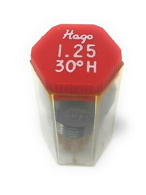Hago 1.25 Gph 30° H Hollow Cone Oil Nozzle 1.25 30H 1.25 Gph 30 Degree Nozzle