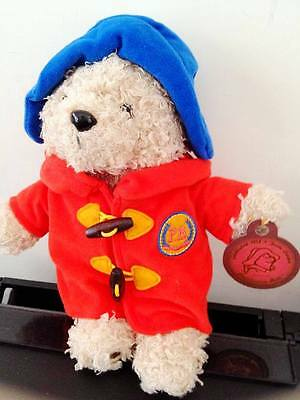 Paddington bear Red Clothes Blue Hat with PB Logo 10 inches Collection Series