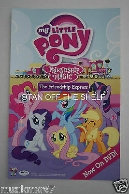 SDCC Comic Con 2015 EXCLUSIVE My Little Pony THE FRIENDSHIP EXPRESS promo poster