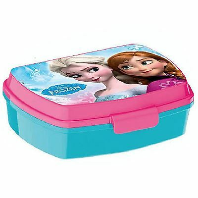 Disney Frozen Plastic Lunch Box New Official