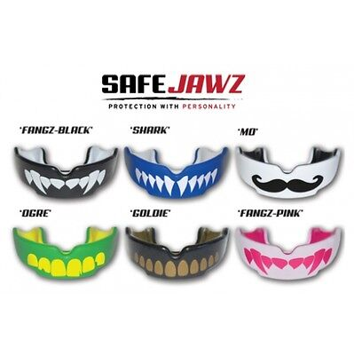 Safejawz Mouthguard Roller Derby / Ice Hockey / MMA / Rugby - Various Designs