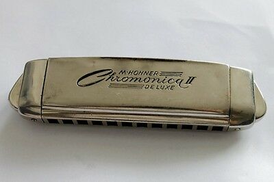 Antique German Harmonica M. HOHNER Chromonica De Luxe 1930`s