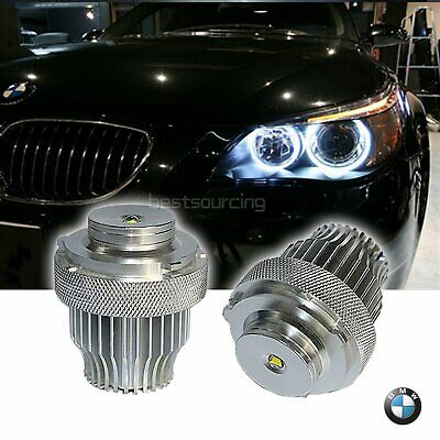 No Error BMW 5-Series E60 E61 LCI CREE LED 20W Angel Eyes Halo Ring Light Bulb