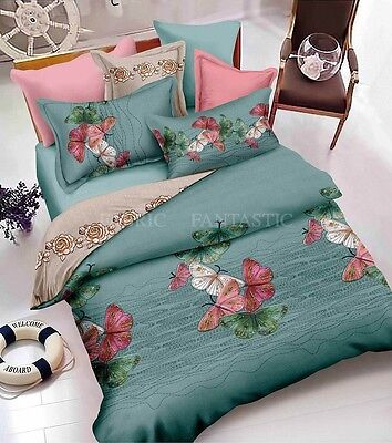 BUTTERFLY-3 Duvet/Doona/Quilt Cover Set Queen/King/Super King Size Bed New