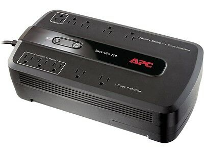 APC BE750G Back-UPS 750 VA 10-outlet Uninterruptible Power Supply (UPS)