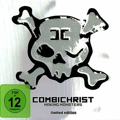 COMBICHRIST Making Monsters LIMITED CD+DVD 2010