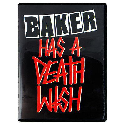 Baker Has A Deathwish Dvd Skate Video Greco Reynolds Herman Neen Skateboard New