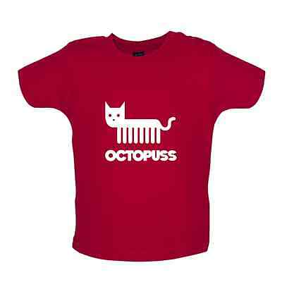 Octopuss - Baby T-shirt / Tee - Octopus / Cat / Funny / Gift - 8 Colours