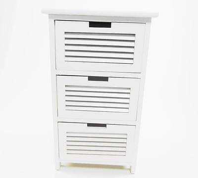 Assembled Shabby Chic Chest of Drawer Hallway Bedside Table Storage Unit Cabinet