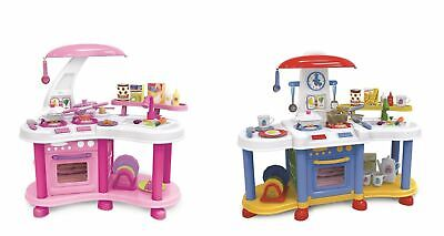 Vinsani Pretend Play Little Kitchen Food Cooking Gas Oven Appliances Toys Set