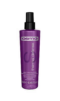 Osmo Thermal Heat Defense 250ml Hair Straightening Heat Stylers Frizz Defence